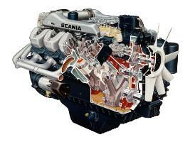 двигатель грузовика